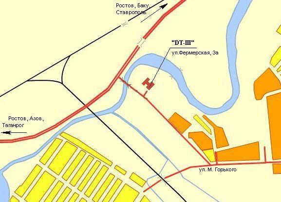 схему города Батайска